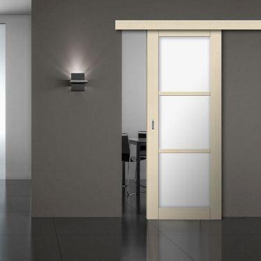 Фото раздвижной двери Wood Single