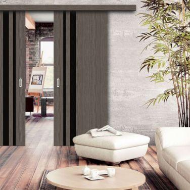 Раздвижная дверь Wood Double в интерьере