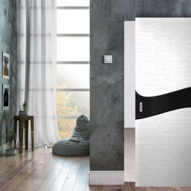 Раздвижная межкомнатная дверь Invisible в интерьере